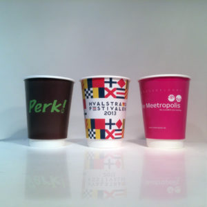 Takeaway Coffee Cups ( Double Wall Cups ) Scyphus