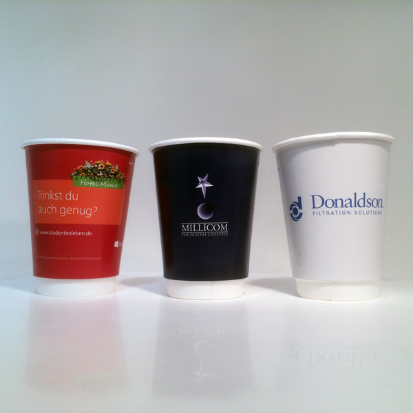 Top Quality Custom Printed Coffee Paper Cup with Handle