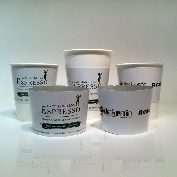 Coffee Sleeves for Takeaway Coffee Cups