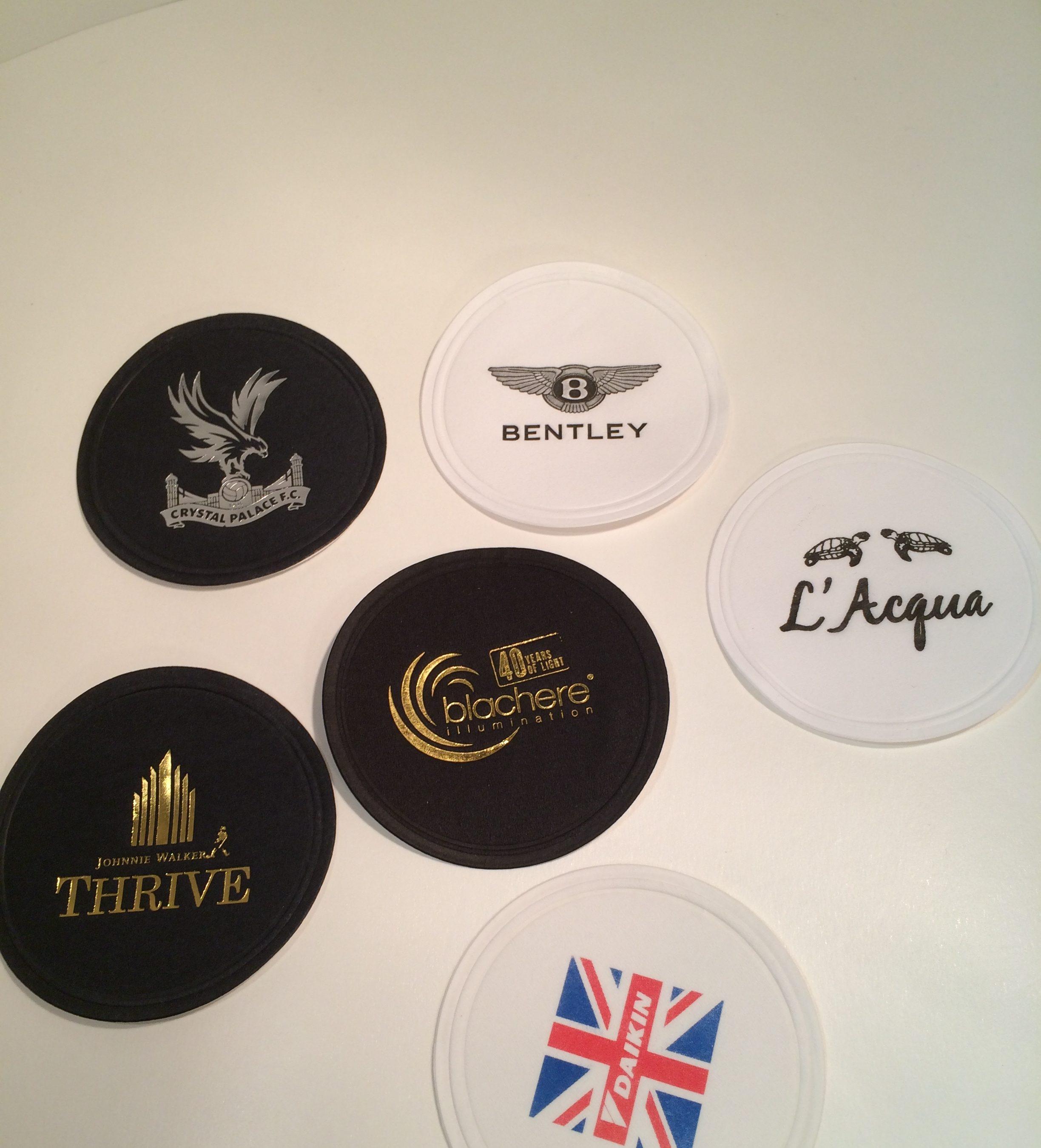 Personalised Beer Mats ( Paper Coasters )