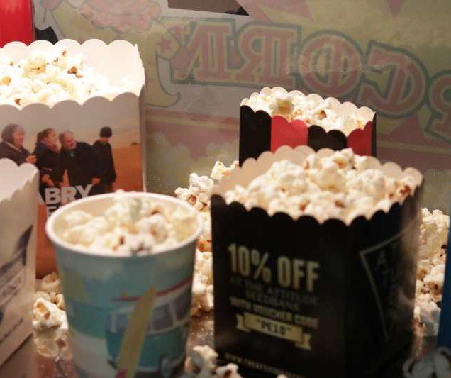Scyphus brings more smiles to popcorn boxes consumers!